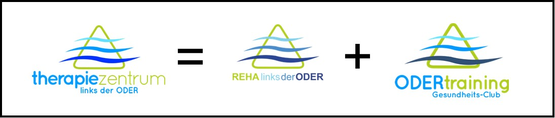 Logo Reha links der ODER + ODERtraining = therapiezentrum links der ODER